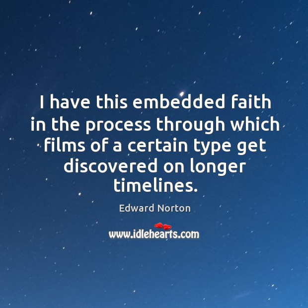 I have this embedded faith in the process through which films of a certain type get discovered on longer timelines. Image