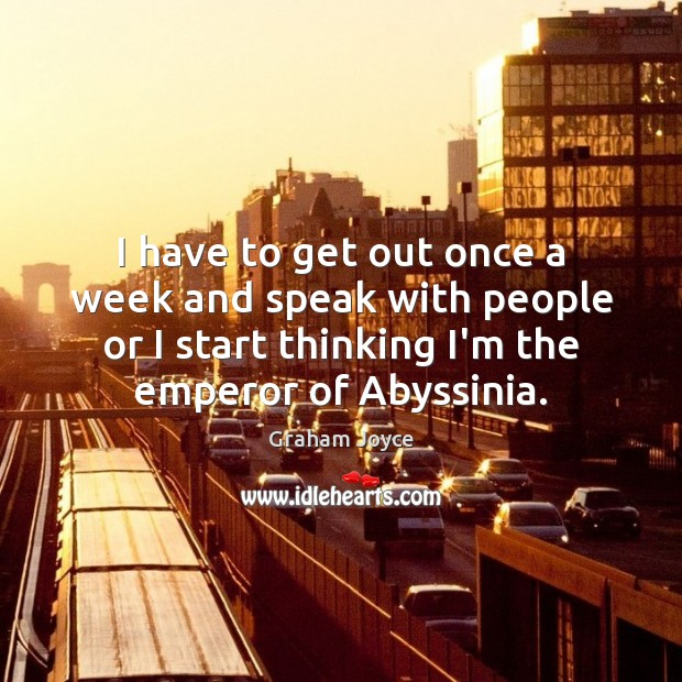Picture Quote by Graham Joyce
