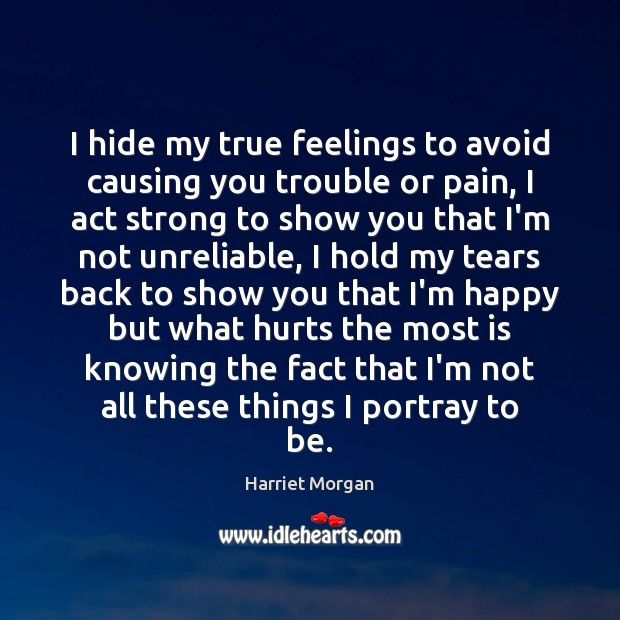 Picture Quote by Harriet Morgan