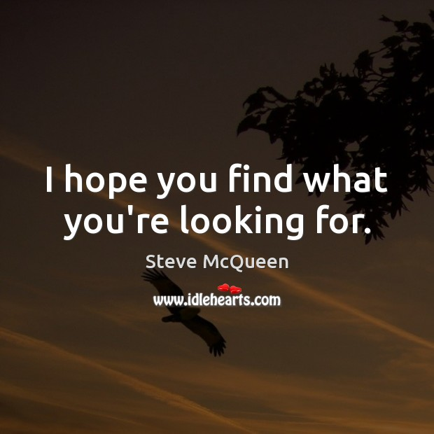 I hope you find what you're looking for. Image