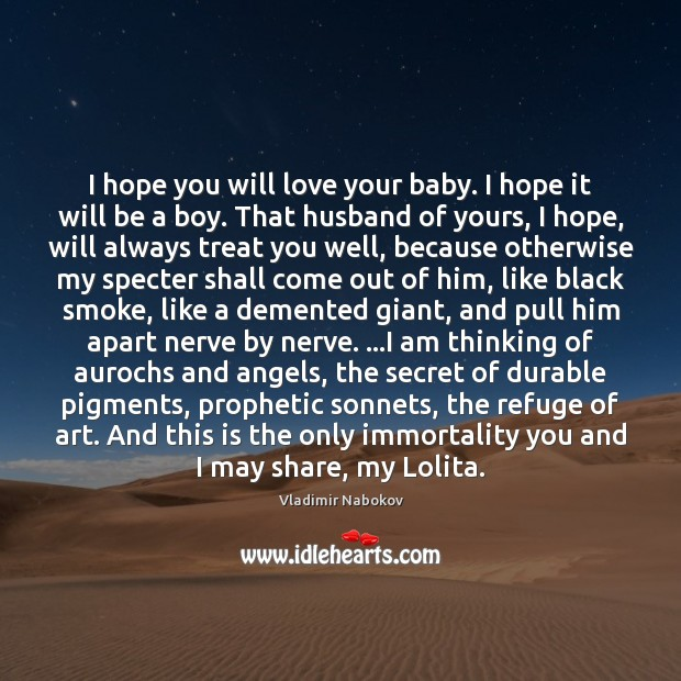 I hope you will love your baby. I hope it will be Image