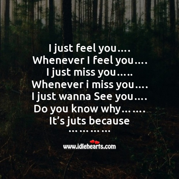 I just feel you…. Funny Messages Image