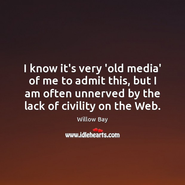 I know it's very 'old media' of me to admit this, but Image