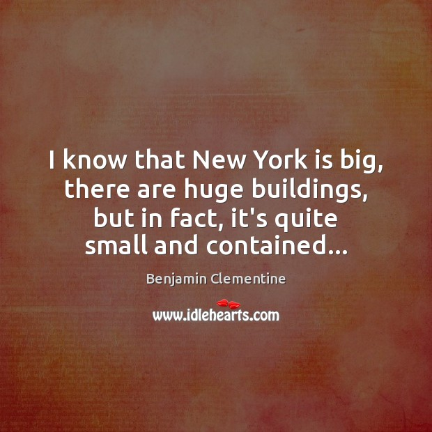 I know that New York is big, there are huge buildings, but Image