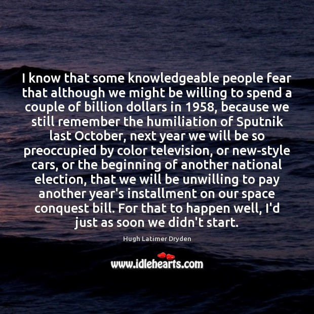 I know that some knowledgeable people fear that although we might be Image