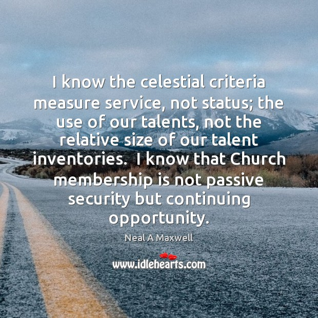 I know the celestial criteria measure service, not status; the use of Image