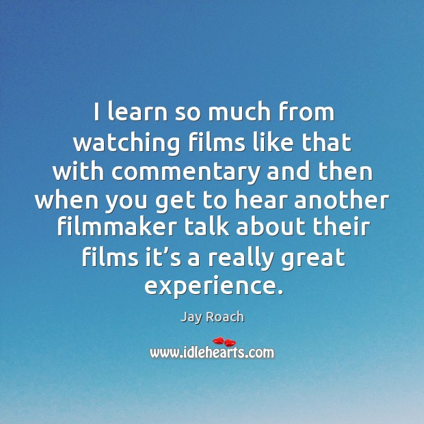 How To Learn From Famous Filmmakers – Listen To Them