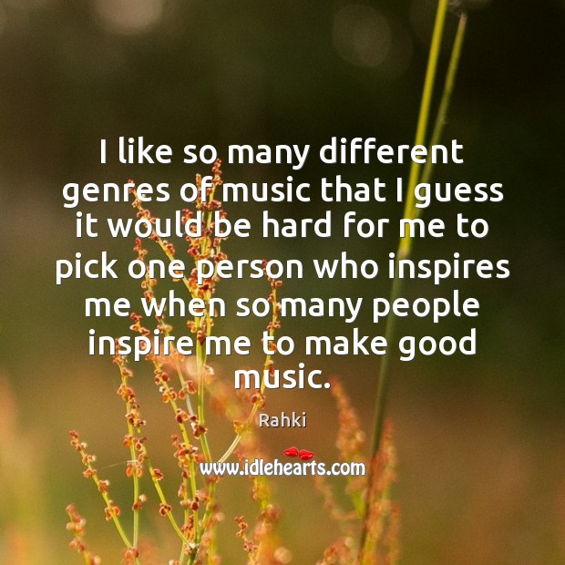 Picture Quote by Rahki