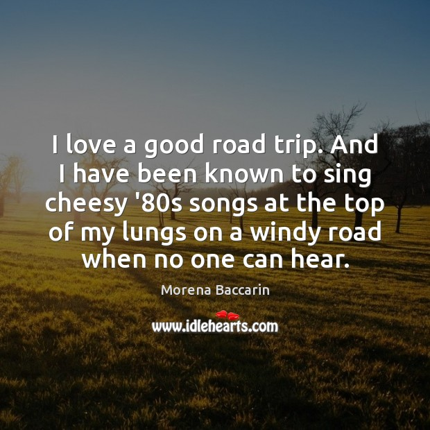 I love a good road trip. And I have been known to Image