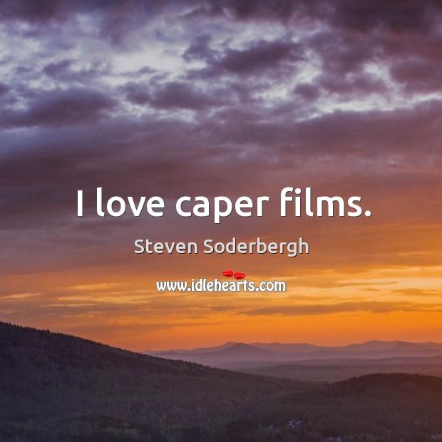 I love caper films. Image