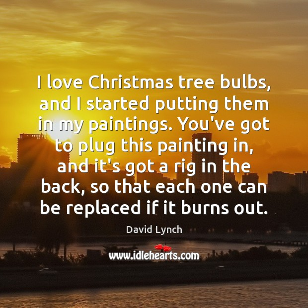 Image, I love Christmas tree bulbs, and I started putting them in my