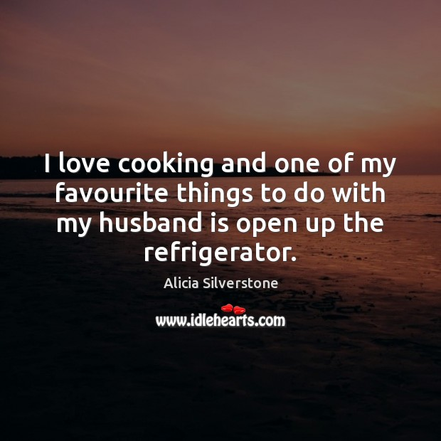 Image, I love cooking and one of my favourite things to do with