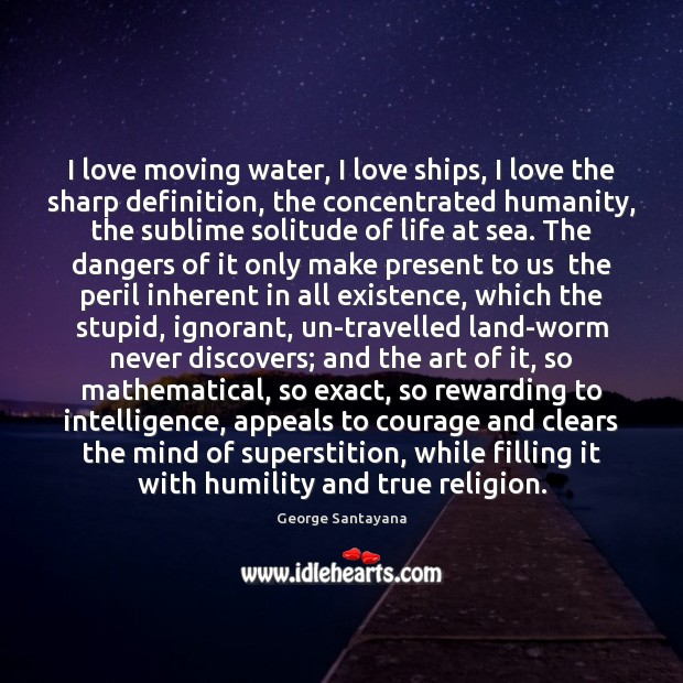 I love moving water, I love ships, I love the sharp definition, Image