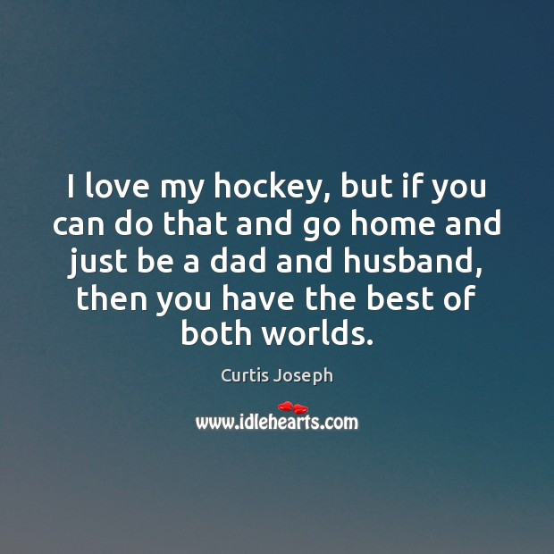 Image, I love my hockey, but if you can do that and go