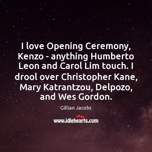 I love Opening Ceremony, Kenzo – anything Humberto Leon and Carol Lim Image