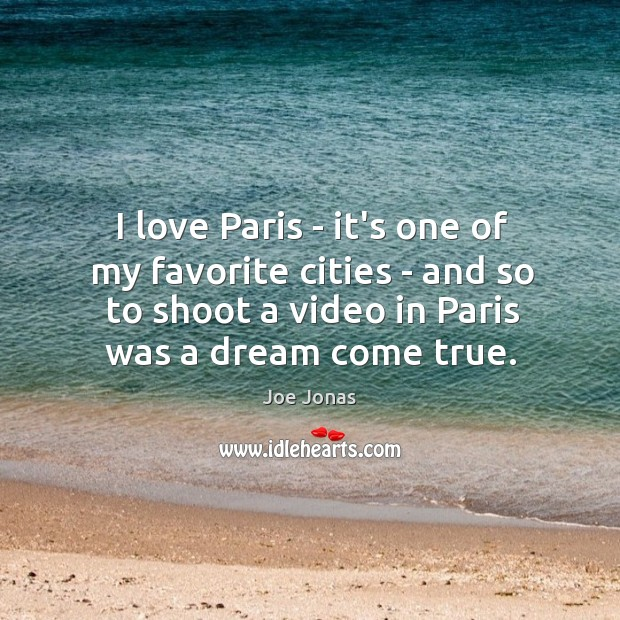 I love Paris – it's one of my favorite cities – and Image