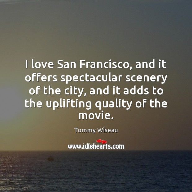 Image, I love San Francisco, and it offers spectacular scenery of the city,