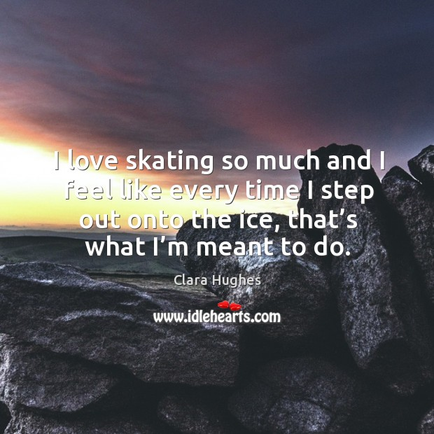 Picture Quote by Clara Hughes