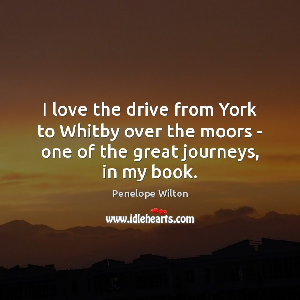I love the drive from York to Whitby over the moors – Image