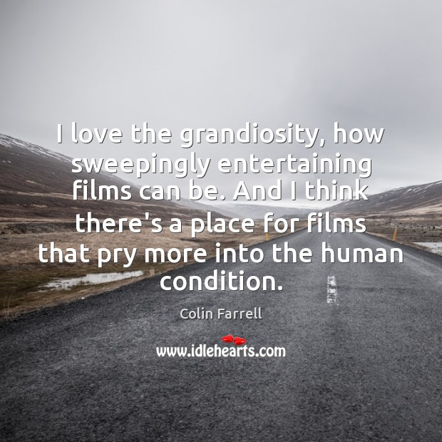 I love the grandiosity, how sweepingly entertaining films can be. And I Image