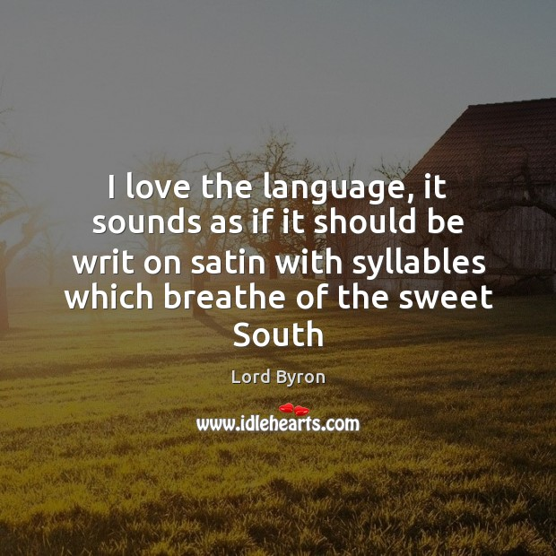 I love the language, it sounds as if it should be writ Image