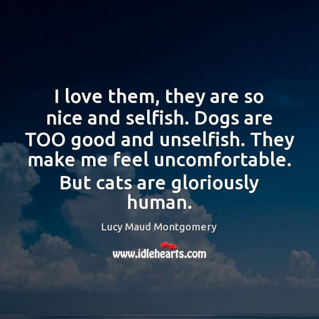 Image, Cat, Cat Love, Cats, Dog, Dogs, Feel, Feels, Funny Cat, Good, Human, Humans, I Love, Love, Make, Me, Nice, Selfish, Them, Too, Uncomfortable, Unselfish