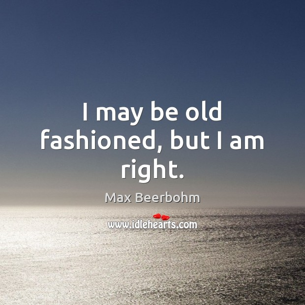 Picture Quote by Max Beerbohm