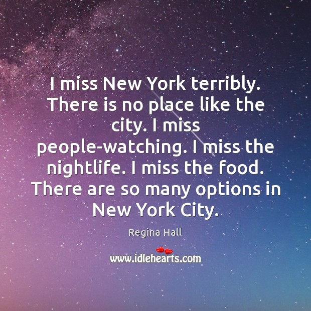 I miss New York terribly. There is no place like the city. Image