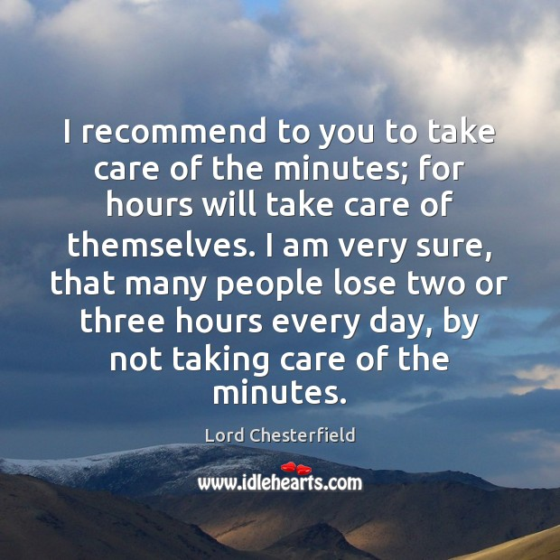 I recommend to you to take care of the minutes; for hours Image