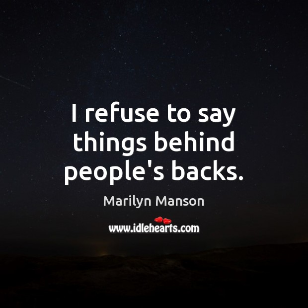 Picture Quote by Marilyn Manson