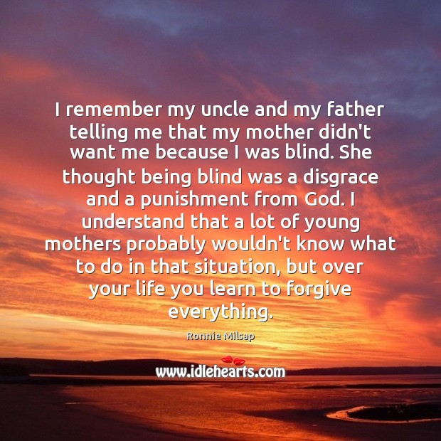 Image, I remember my uncle and my father telling me that my mother