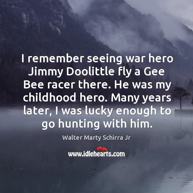 I remember seeing war hero jimmy doolittle fly a gee bee racer there. He was my childhood hero. Image