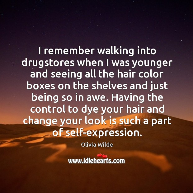 I remember walking into drugstores when I was younger and seeing all Image