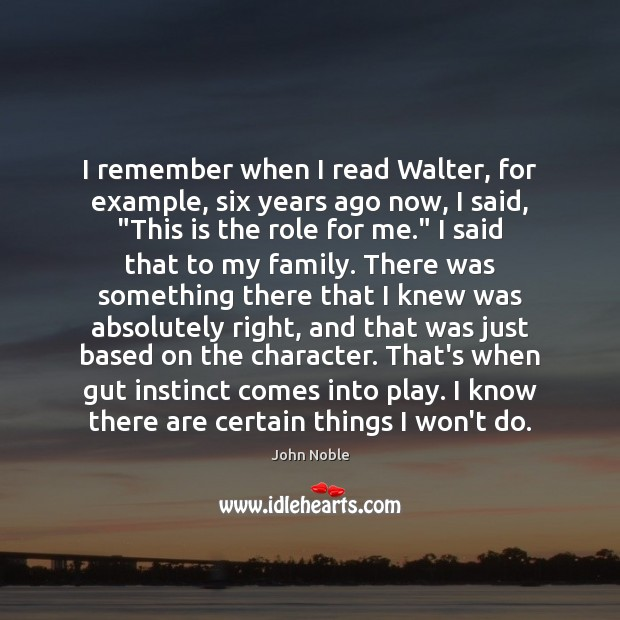 I remember when I read Walter, for example, six years ago now, Image