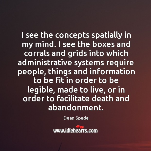 I see the concepts spatially in my mind. I see the boxes Image