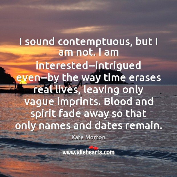 I sound contemptuous, but I am not. I am interested–intrigued even–by the Image