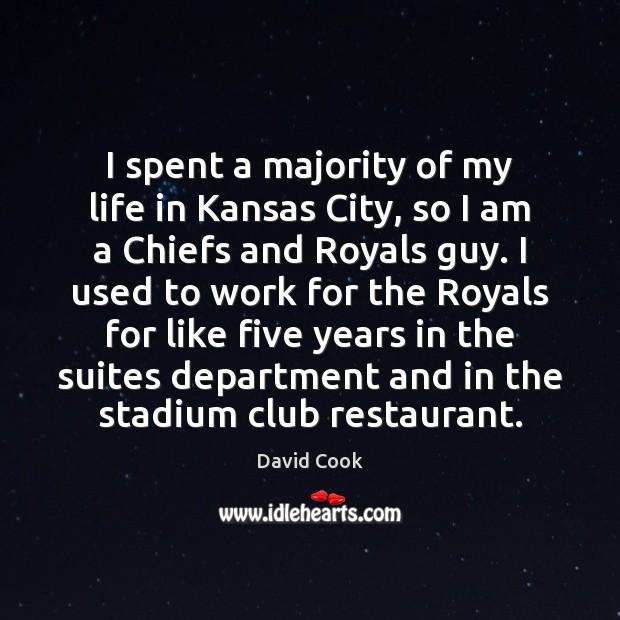 I spent a majority of my life in Kansas City, so I Image