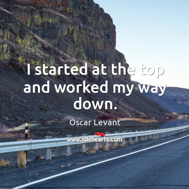 I started at the top and worked my way down. Image