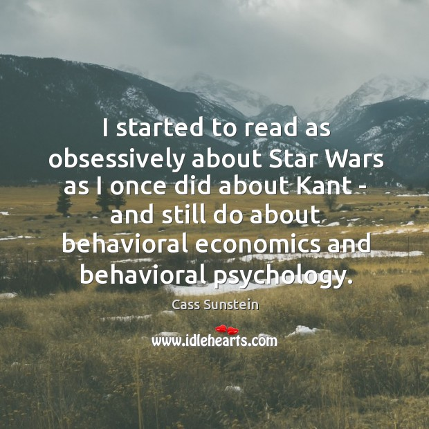 Image, I started to read as obsessively about Star Wars as I once