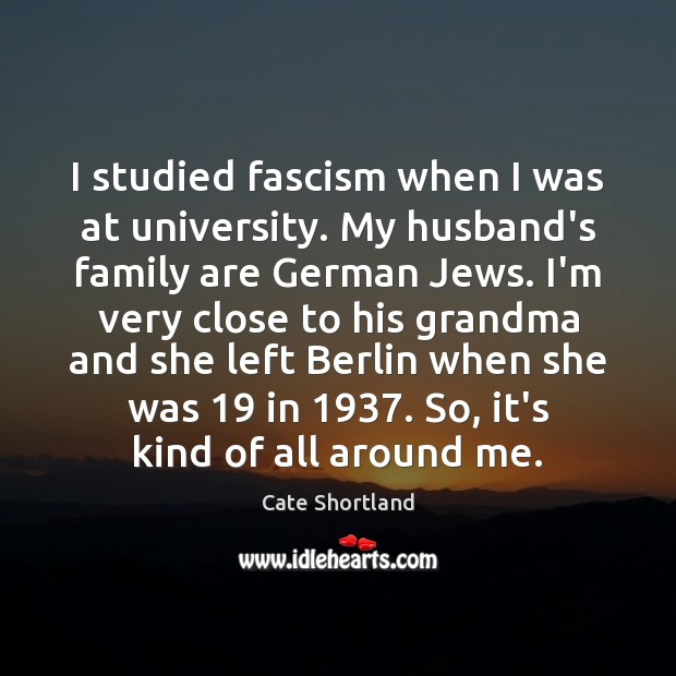 Picture Quote by Cate Shortland