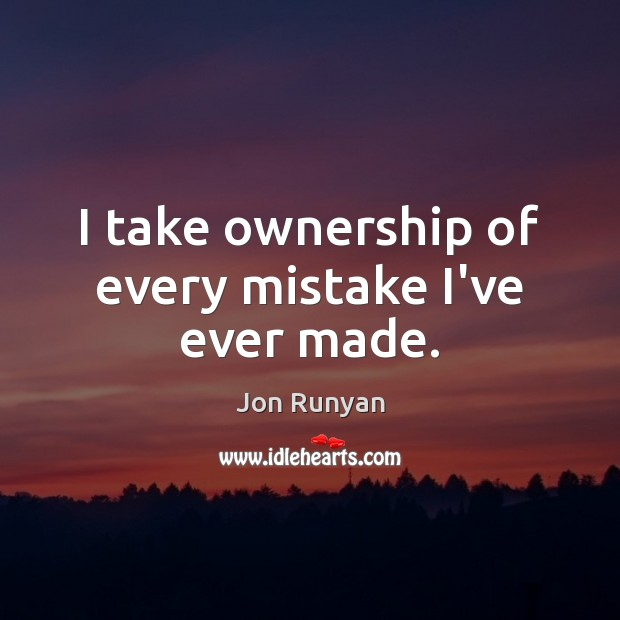 Picture Quote by Jon Runyan