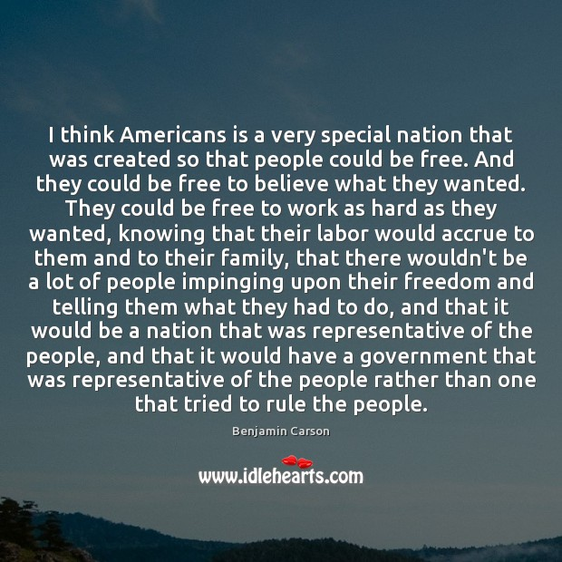 I think Americans is a very special nation that was created so Image