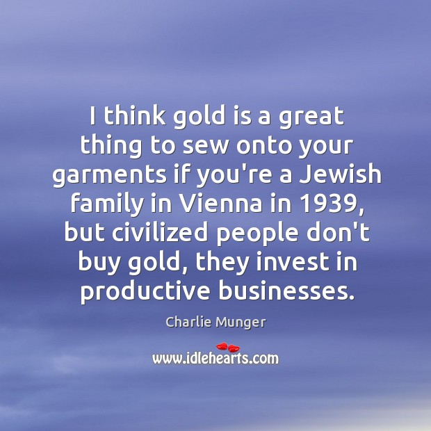 Image, I think gold is a great thing to sew onto your garments