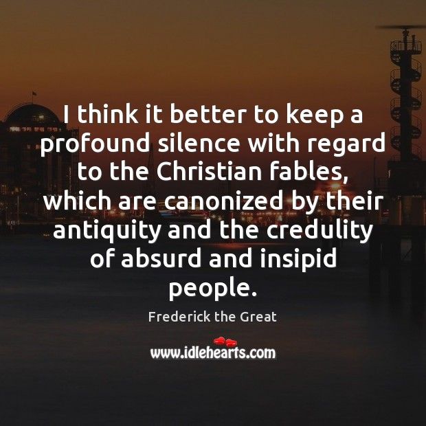 I think it better to keep a profound silence with regard to Image
