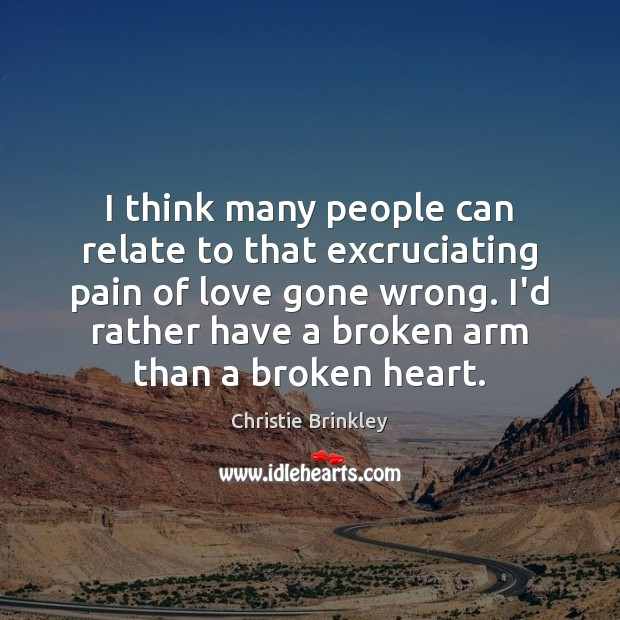 Image, I think many people can relate to that excruciating pain of love