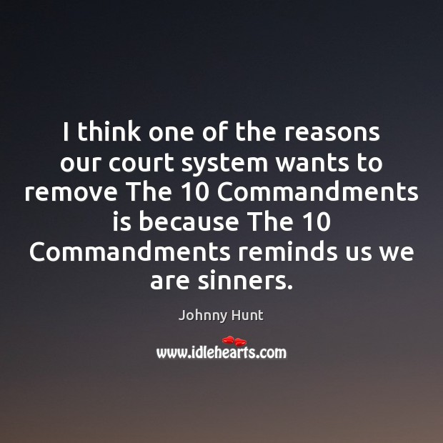 I think one of the reasons our court system wants to remove Image