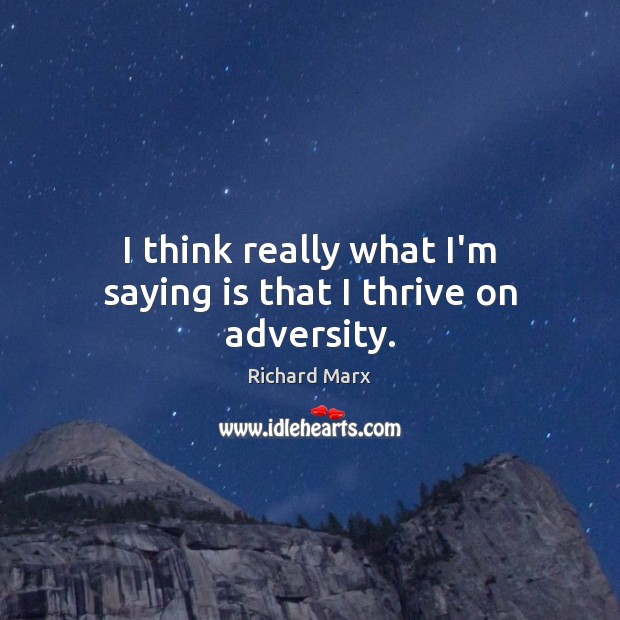 Picture Quote by Richard Marx