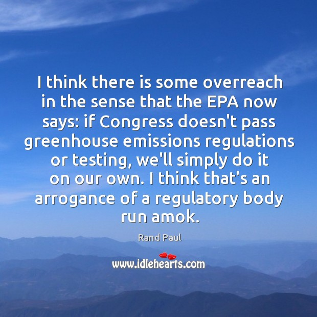 I think there is some overreach in the sense that the EPA Image
