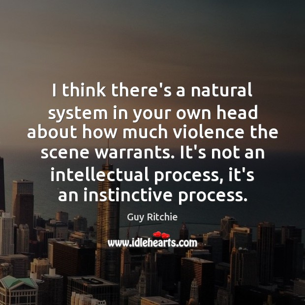 I think there's a natural system in your own head about how Image