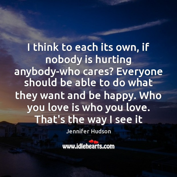I think to each its own, if nobody is hurting anybody-who cares? Image